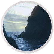 Inlet Round Beach Towel