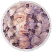 Inner Cacophany Round Beach Towel