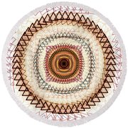 Inner Purpose Round Beach Towel