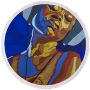 Innervisions Round Beach Towel