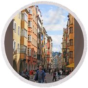 Innsbruck Color Round Beach Towel