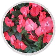 Interior Decorations Butterfly Garden Flowers Romantic At Las Vegas Round Beach Towel