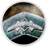 International Grille Emblem -0741ac Round Beach Towel
