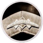 International Grille Emblem -0741s Round Beach Towel