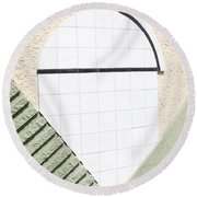 Interstate 10 Project Outtake_0010279 Round Beach Towel