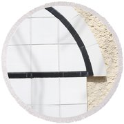 Interstate 10 Project Outtake_0010296 Round Beach Towel
