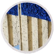 Interstate 10 Project Outtake_0010444 Round Beach Towel