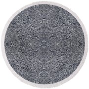 Intricacy Round Beach Towel