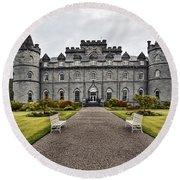 Inveraray Castle Argyll Round Beach Towel