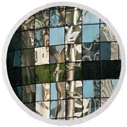 Ion Orchard Reflections Round Beach Towel
