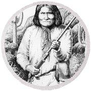 iPhone-Case-Geronimo Round Beach Towel