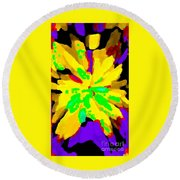 Iphone Cases Colorful Flowers Abstract Roses Gardenias Tiger Lily Florals Carole Spandau Cbs Art 182 Round Beach Towel