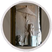 Iran Ancient Umbrella Round Beach Towel