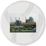 Iran Isfahan  Round Beach Towel