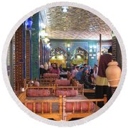 Iran Isfahan Restaurant Round Beach Towel