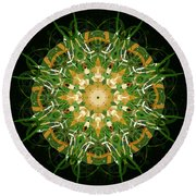 Irish Influence 3 Round Beach Towel
