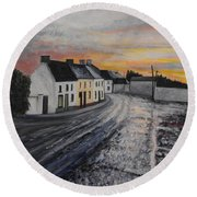 Rathvilly After The Rain Round Beach Towel