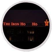 Iron Ho-ho Round Beach Towel