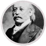 Isaac Mayer Wise (1819-1900) Round Beach Towel