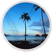 Isla Secas Round Beach Towel