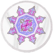 Islamic Art 06 Round Beach Towel