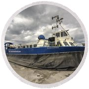 Island Express  Round Beach Towel
