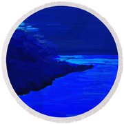 Island Round Beach Towel