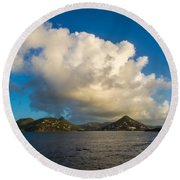 Islands Round Beach Towel