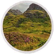 Isle Of Skye Round Beach Towel
