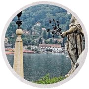 Isola Bella Beauty Round Beach Towel