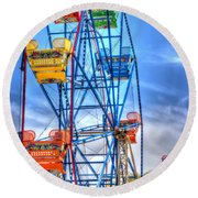 It Comes Full Circle Round Beach Towel