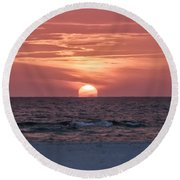 It Doesn't Get Any Better Than This Round Beach Towel