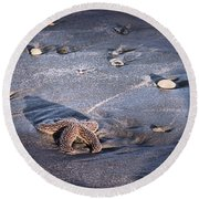 It Matters To This One Isle Of Palms Sc Round Beach Towel