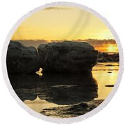 It's Golden Round Beach Towel