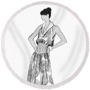 It's Sarong It's Right Round Beach Towel by Sarah Parks