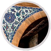 Iznik 17 Round Beach Towel