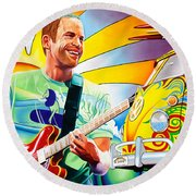 Jack Johnson Round Beach Towel