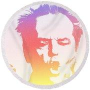 Jack Nicholson - 2 Round Beach Towel