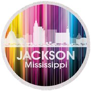 Jackson Ms 2 Round Beach Towel