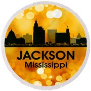 Jackson Ms 3 Round Beach Towel