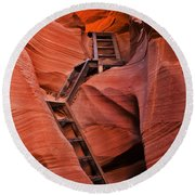 Jacob's Ladder Round Beach Towel