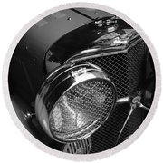 Jaguar Ss Angled Front Round Beach Towel