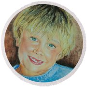 Jake Round Beach Towel