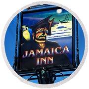 Jamaica Inn On Bodmin Moor Round Beach Towel