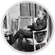 James Whistler (1834-1903) Round Beach Towel