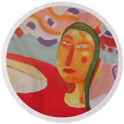 Jane Round Beach Towel