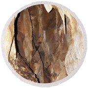 Javoricko Stalactite Cave Round Beach Towel