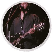 Jeffrey Gaines Round Beach Towel