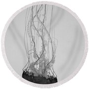 Jelly Fish Basics Round Beach Towel