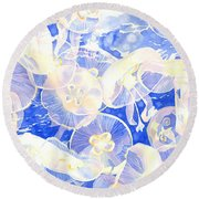 Jellyfish Jubilee Round Beach Towel